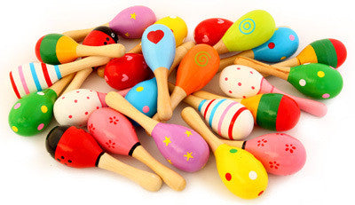 Wooden Decorated Maraca