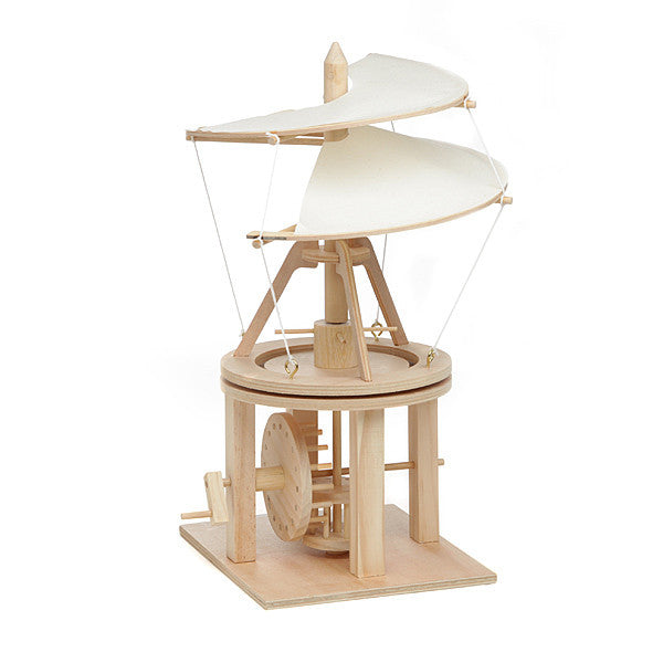 Da Vinci Helicopter Wooden Kit - Earth Toys - 1