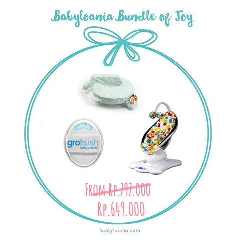Bundle of Joy: 4 Moms Mamaroo, My Brest Friend, & Gro-Hush