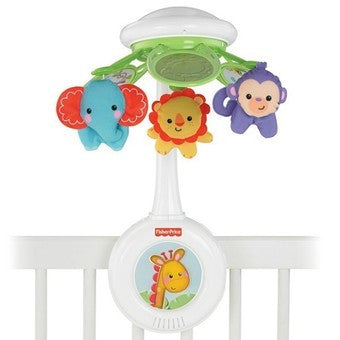 Fisher Price Laugh & Learn Rainforest Friends Deluxe Musical Mobile