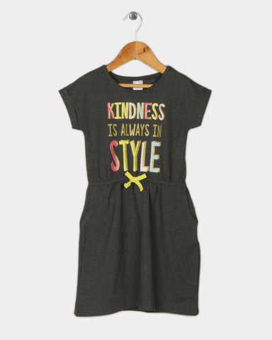 Kindness Dress - Grey