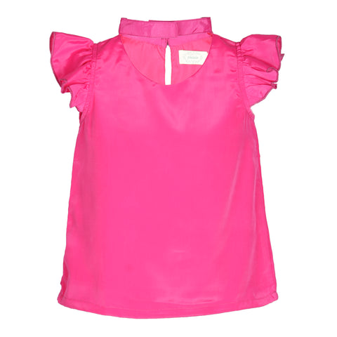 Pink Wing Casual Top