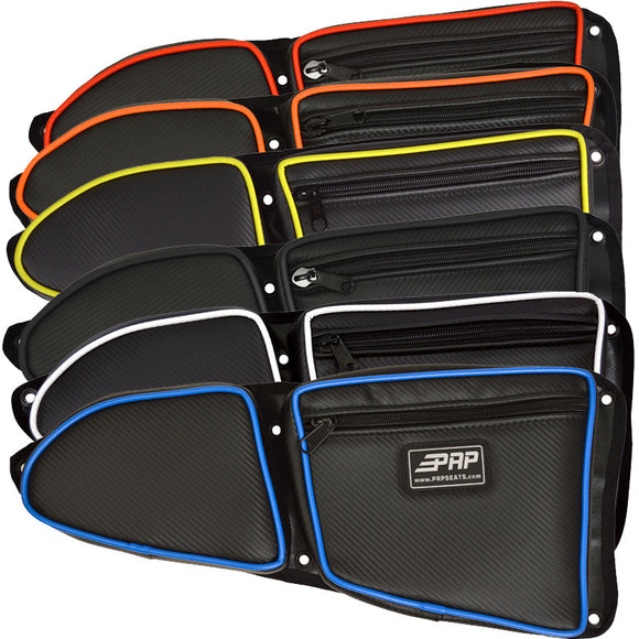 PRP Front Door Bags for RZR Turbo, Turbo S, 1000, 1000s, and 900 2015+