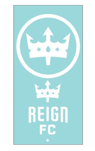 Reign FC White 2-Pack Decal Set