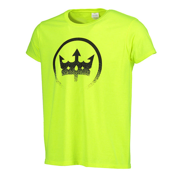 Women's Distressed Crown T-Shirt - Volt