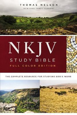 NKJV Study Bible (Full-Color, Red Letter)
