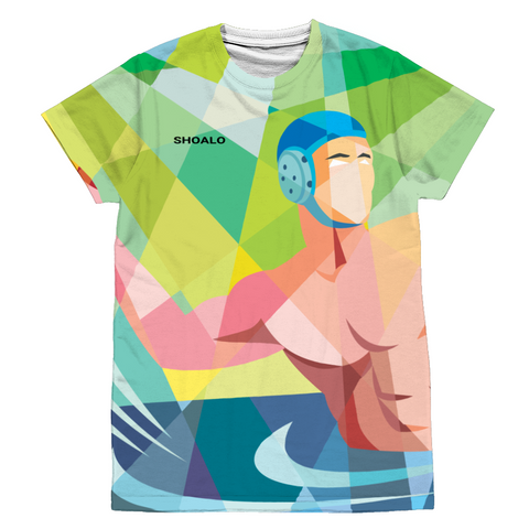 SHOALO WP Player (All Over Print) - T-Shirt / Tee - Front