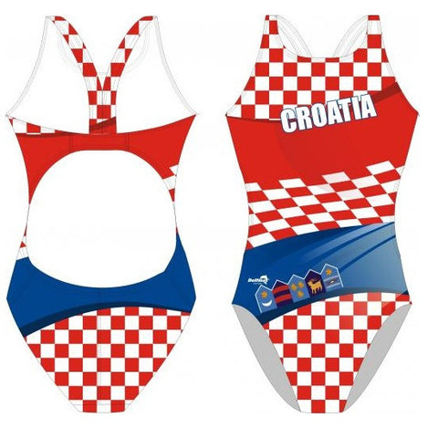 Waterpoloshop - DELFINA Croatia - Womens Bladeback Swimsuit