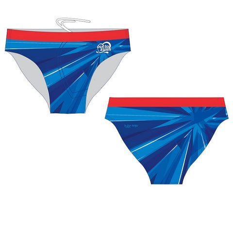 Waterpoloshop - H2OTOGS Customised - Out to Swim Mens Swim Briefs