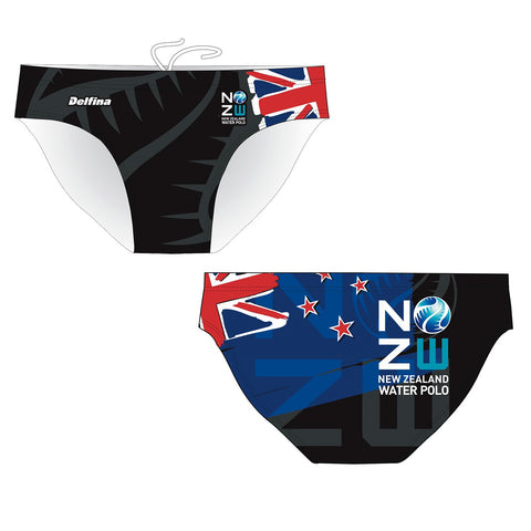 ".IN_STK - DELFINA NEW ZEALAND ""OFFICIAL"" - Mens Suit - Water Polo"