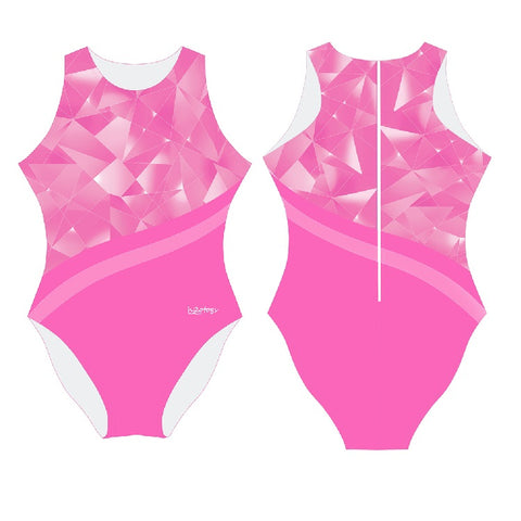 .IN_STK - H2OTOGS Broken Glass - Womens Water Polo Suits / Costume