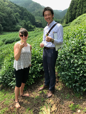Friends in Uji, Japan. What it is like to be a Matcha Green Tea Ladyboss