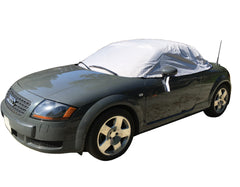 Audi TT Soft Top Roof Protector Half Cover - Mk1 (Typ 8N) 1998 to 2006 (136G) - GREY