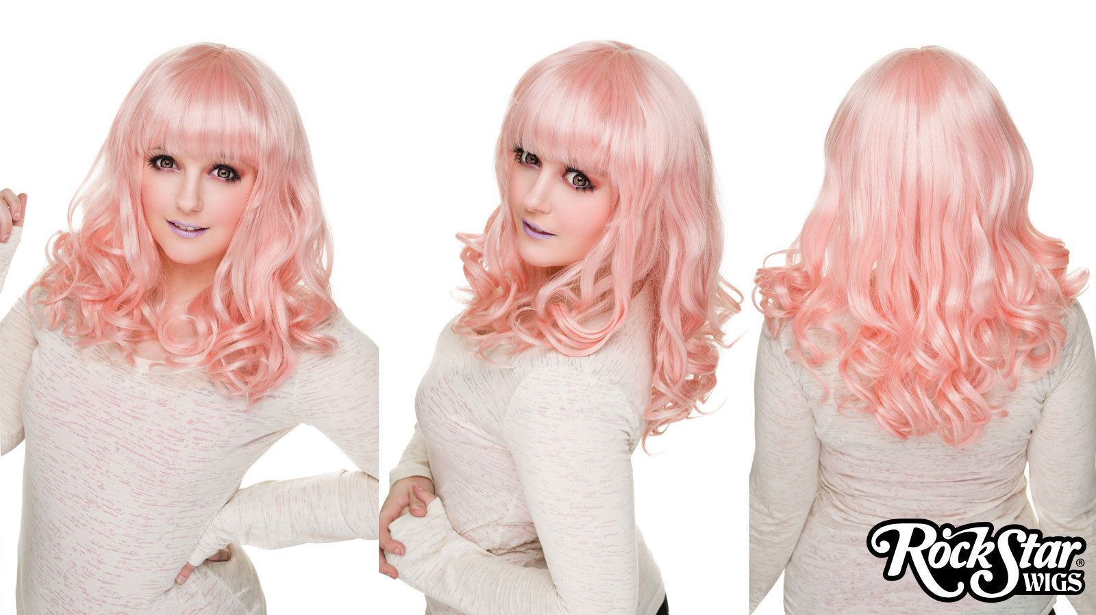 RockStar Wigs® <br> Bang Bang™ Collection - Pink - 00272