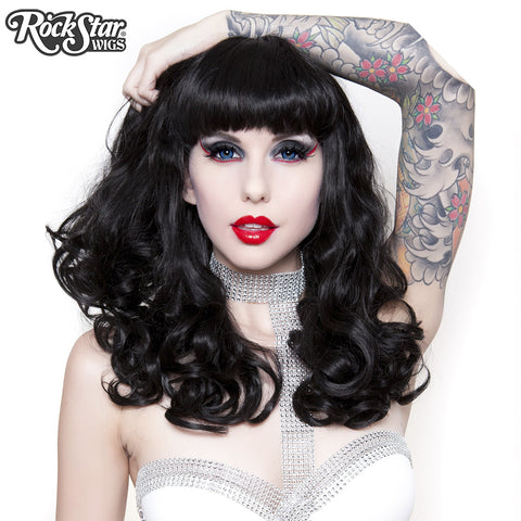 RockStar Wigs® <br> Bang Bang™ Collection - Black Widow -00139