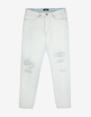 Neuw Studio Relaxed 'Hardcore Bleach' Denim Jeans