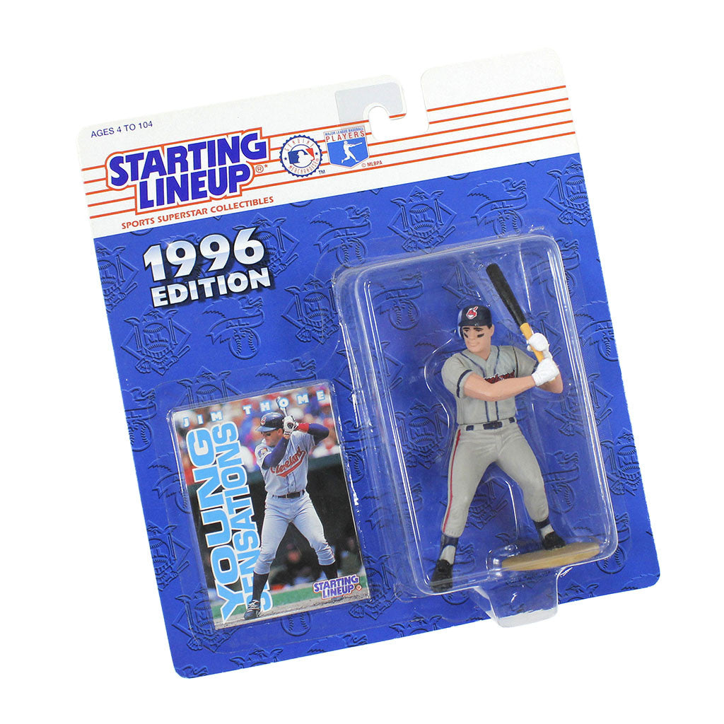 1996 Jim Thome Cleveland Indians Starting Lineup figure