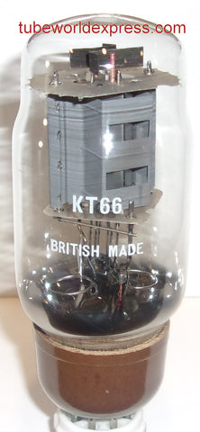 KT66 GEC NOS 1960's rebranded KT66 BRITISH MADE (71ma) (BEST VALUE NOS single tube)