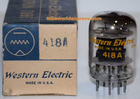 (!!!) 418A Western Electric NOS 1952 original box (41ma)