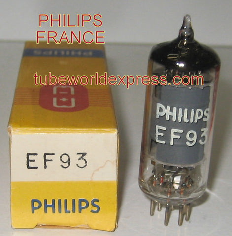 EF93=6BA6 Philips France NOS 1969 (4 in stock)
