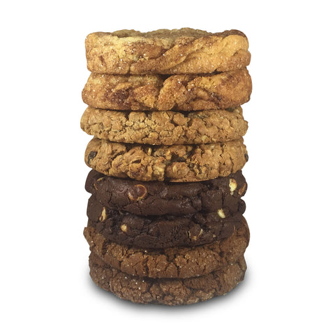 Hearty Oatmeal Raisin Half Pound Cookies - 8 Pack
