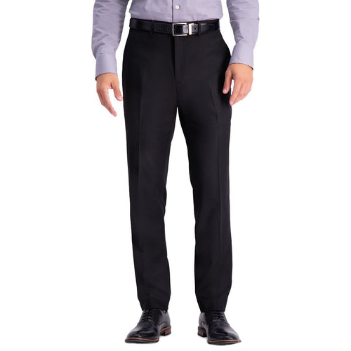Slim-Fit Stretch Premium Textured Weave Dress Pants-Kenneth Cole-Elitify