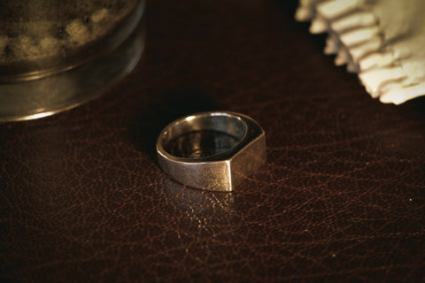 Oblong Signet Ring