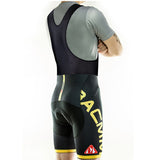 RACMMER CYCLING SHORTS OR BIB GEL PAD ROPA CICLISMO MOISTURE WICKING-ASTROSHADEZ.COM-Black Bib Yellow-S-ASTROSHADEZ.COM
