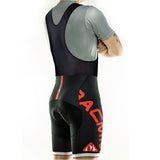 RACMMER CYCLING SHORTS OR BIB GEL PAD ROPA CICLISMO MOISTURE WICKING-ASTROSHADEZ.COM-Black Bib Red-S-ASTROSHADEZ.COM