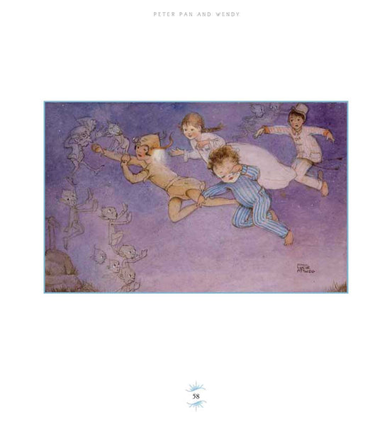 Peter Pan and Wendy illustrated by Mabel Lucie Attwell