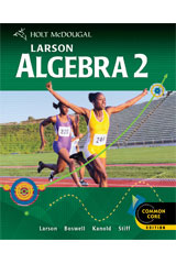 Holt McDougal Larson Algebra 2 Student Edition eTextbook ePub 1-year 2012