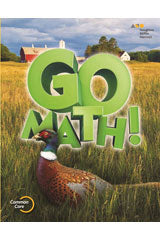 GO Math! Chapter Resource Blackline Master Collection Grade 5
