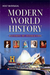 2012 Modern World History: Patterns of Interaction Online Premium Interactive Student Edition (1-year subscription)