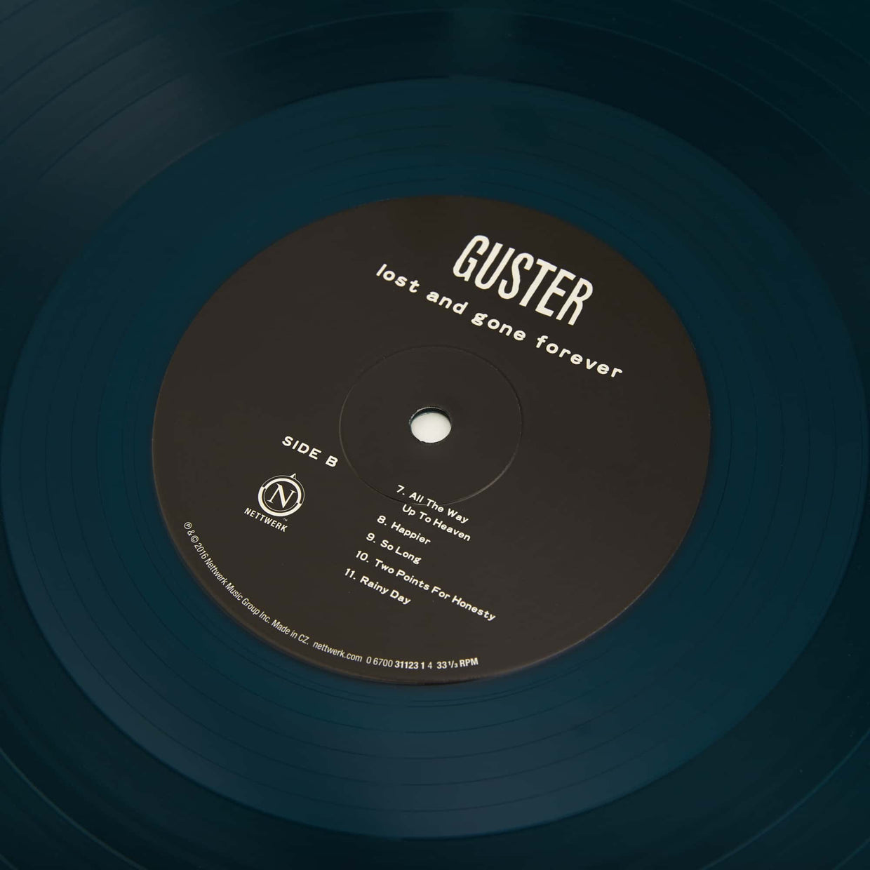 'Lost and Gone Forever' Vinyl LP - Translucent Rainy Day Blue