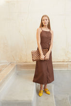 Giana Dress - Mahogany