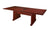 "Premium Mahogany Veneer 120"" Rectangular Conference Table"