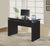 "48"" Cappuccino Office Desk with Floating Desk Top & Optional Additions"
