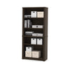 "Embassy 67"" Tall Five Shelf Bookcase in Dark Chocolate"