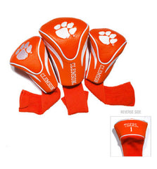 3 Pk Contour Sock Headcovers Clemson Tigers