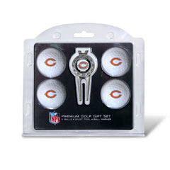 4 Ball Divot Tool Gift Set Chicago Bears