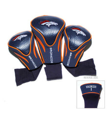 3 Pk Contour Sock Headcovers Denver Broncos