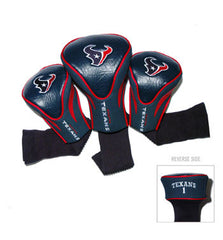3 Pk Contour Sock Headcovers Houston Texans