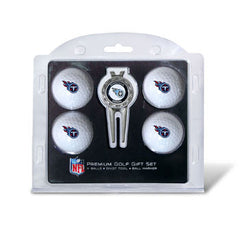 4 Ball Divot Tool Gift Set Tennessee Titans