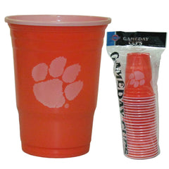 Clemson Game Day Cups