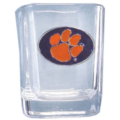 Clemson 2 oz Collector's Glass