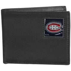 Canadiens Leather Bi-fold Wallet