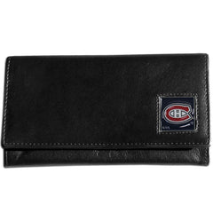 Canadiens Leather Women's Wallet