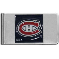 Canadiens Steel Money Clip