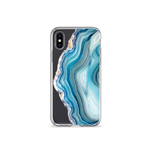 Load image into Gallery viewer, Agate Clear iPhone Case - bycsera