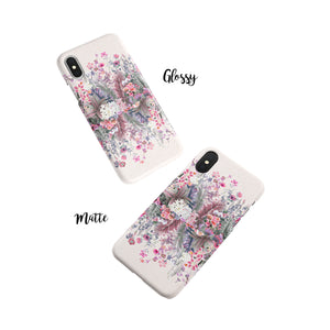 Lavender Garden Snap iPhone Case - bycsera